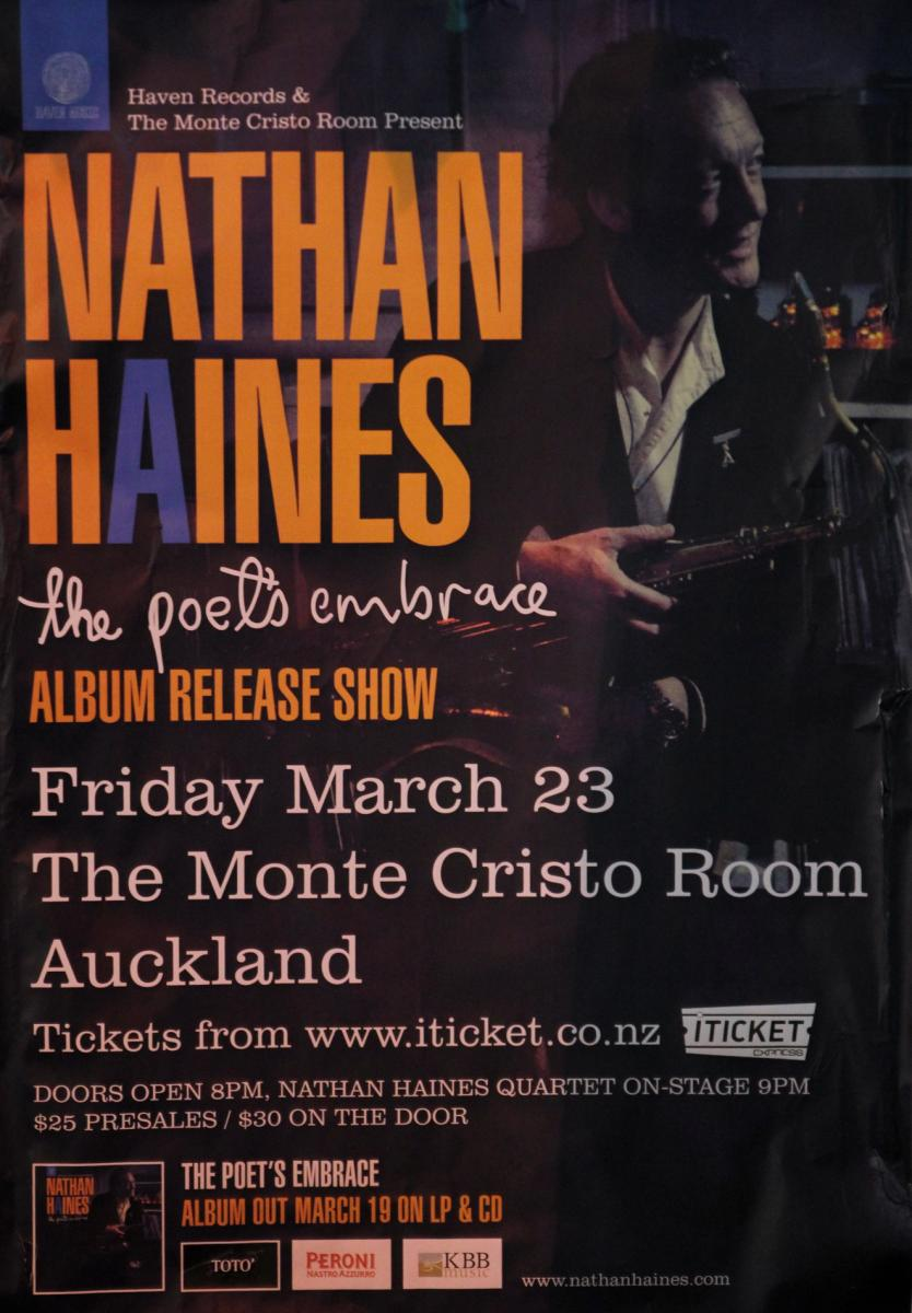 Nathan Haines - Album Launch - Mar 2012