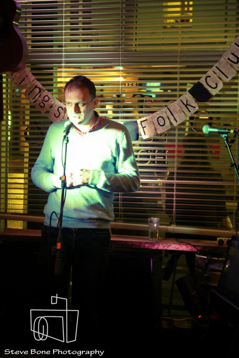 Matt Harvey - Kingsland Folk Club - Portland Public House - 19th May 2013