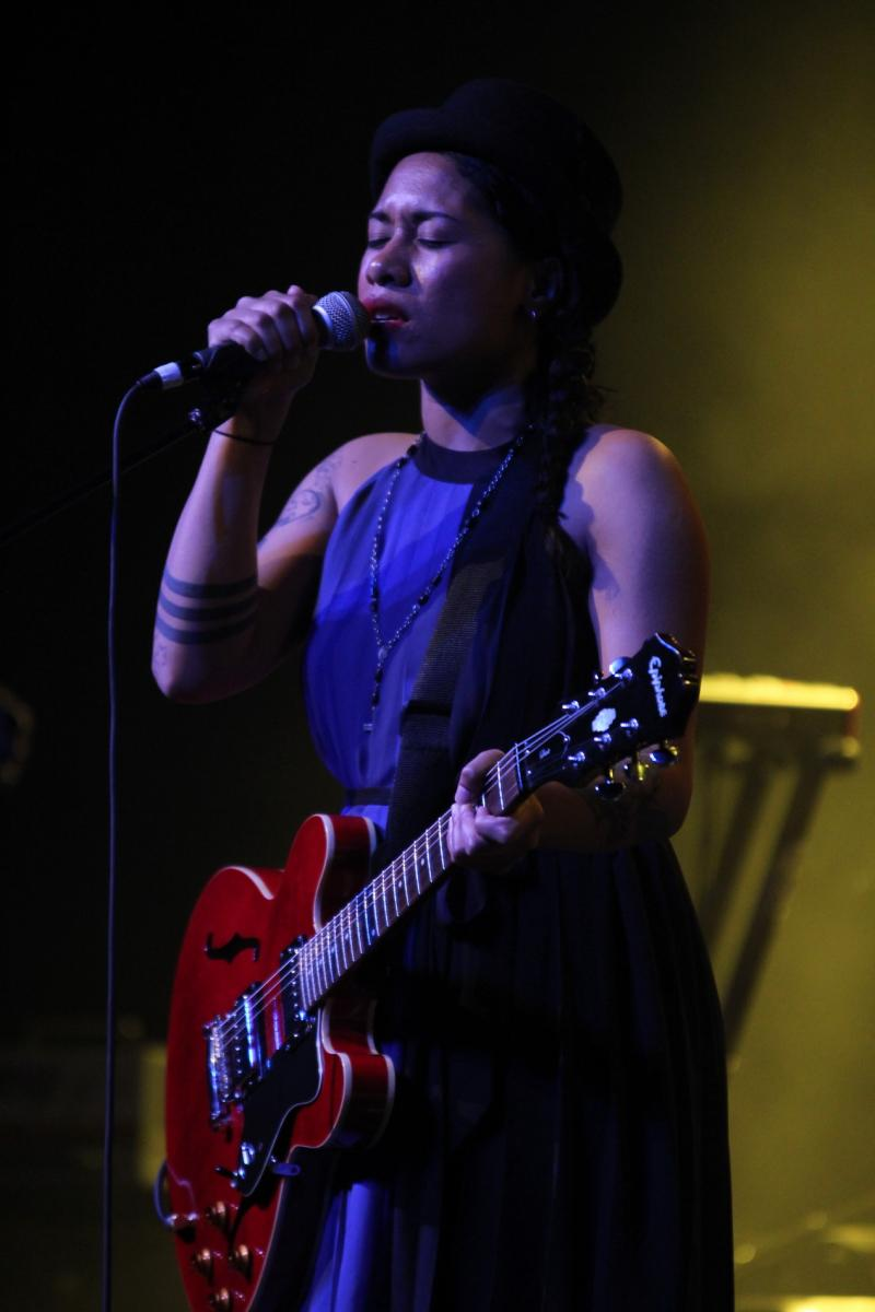 Iva Lamkum - (opening for) Six60 - Powerstation - Apr 2012