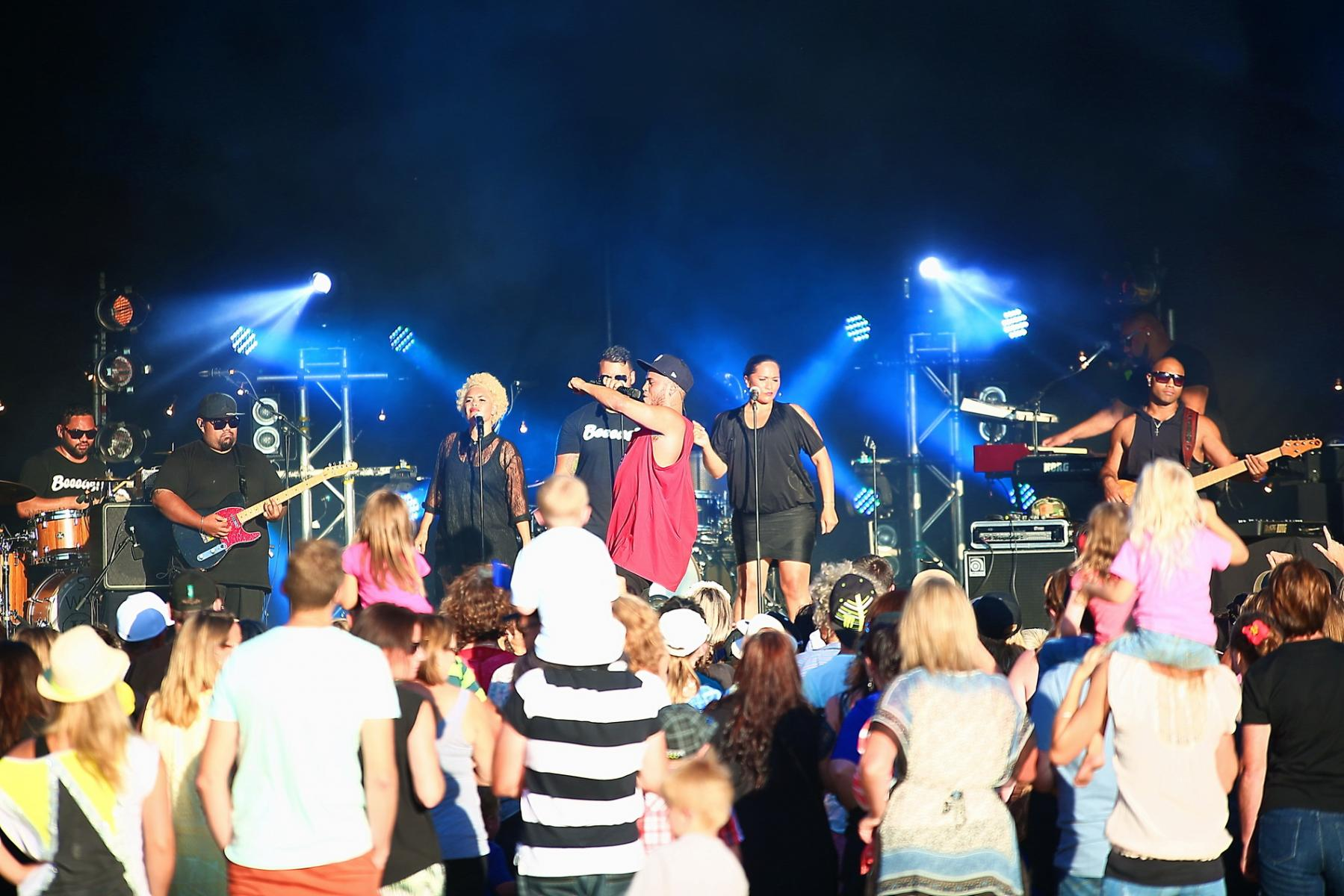 Stan Walker - Classic Hits Winery Tour @ Mystery Creek