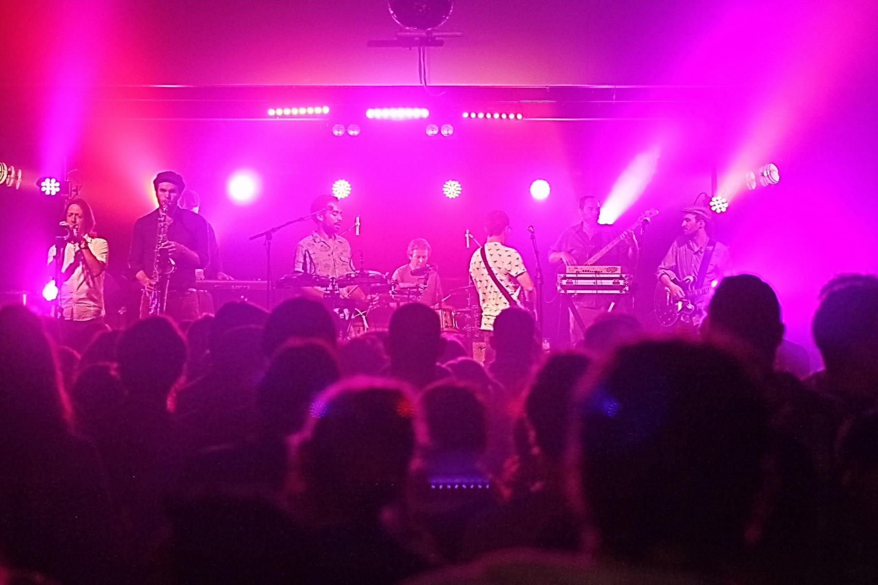 The Black Seeds plus crowd - James Caberet - 15th November '13
