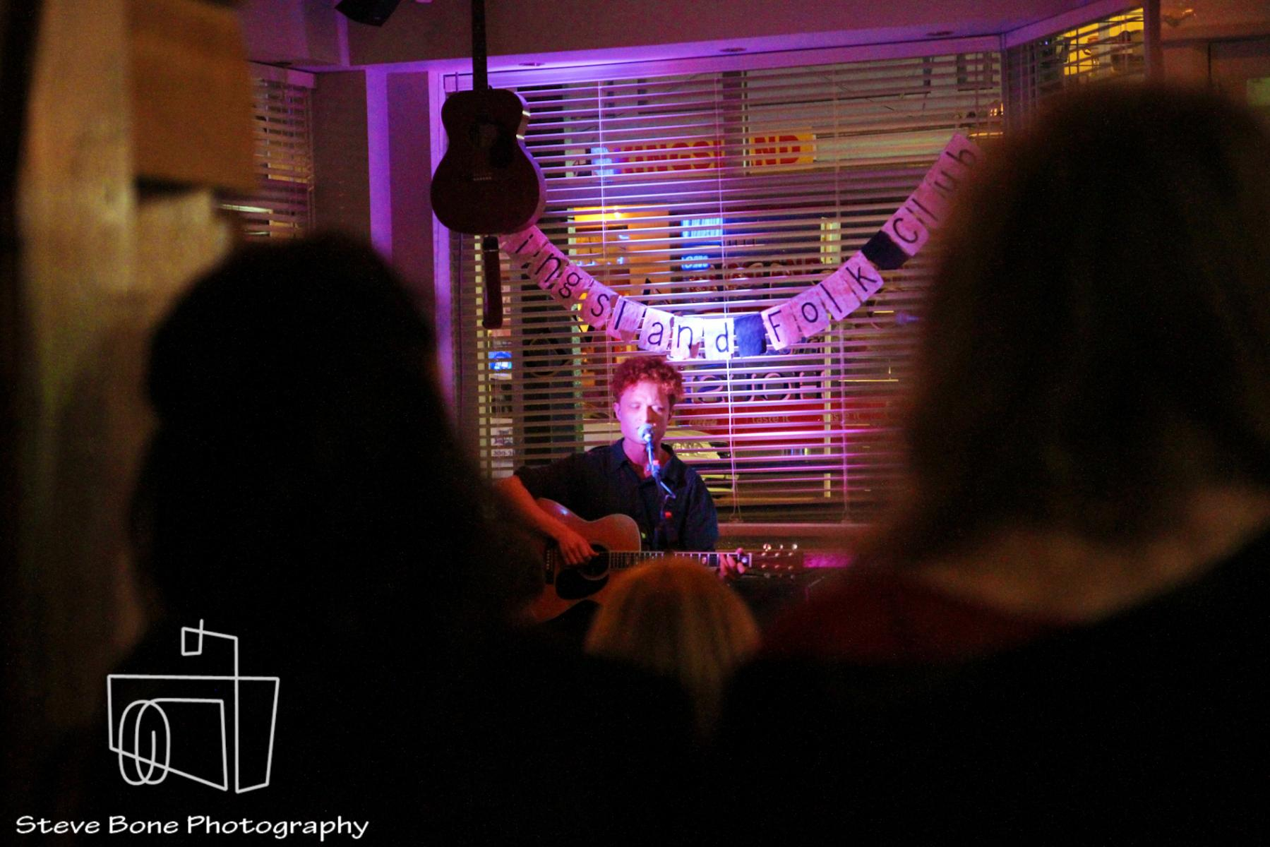 Jesse Sheehan - Kingsland Folk Club - Portland Public House - 19th May 2013