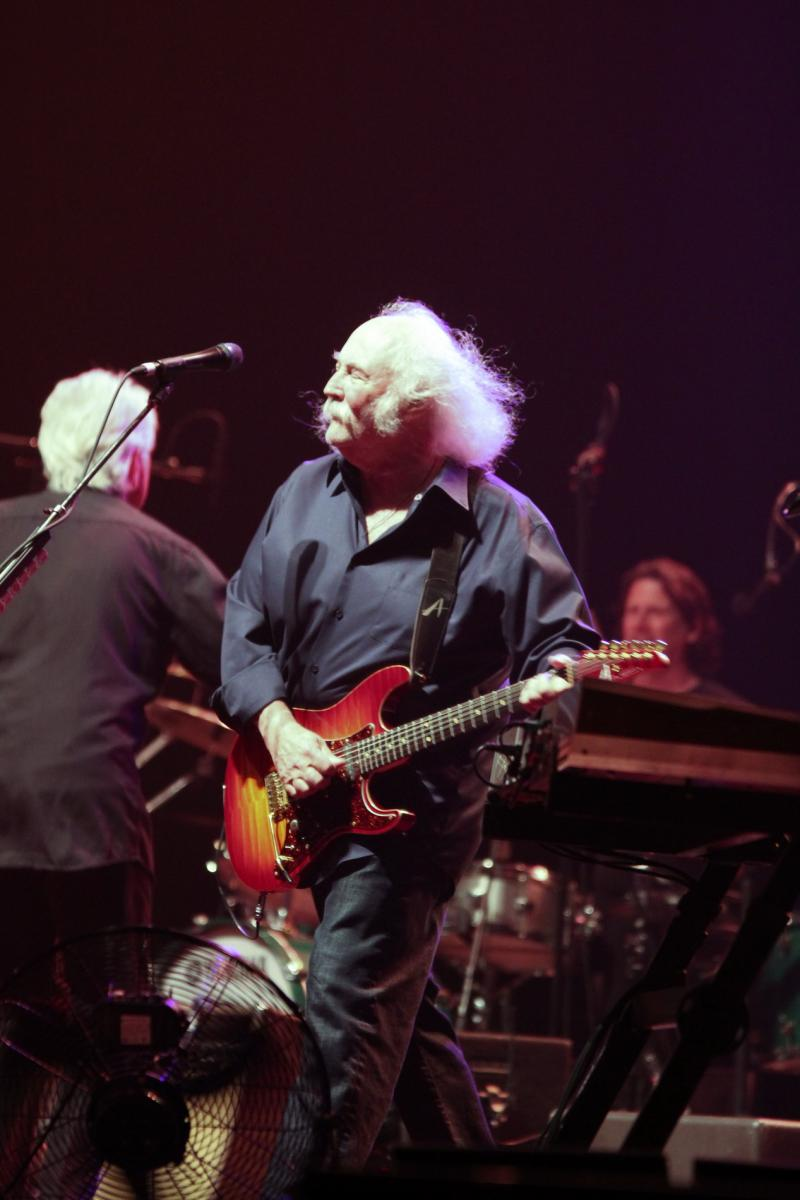 David Crosby - Crosby, Stills and Nash - Trusts Stadium - Mar 2012