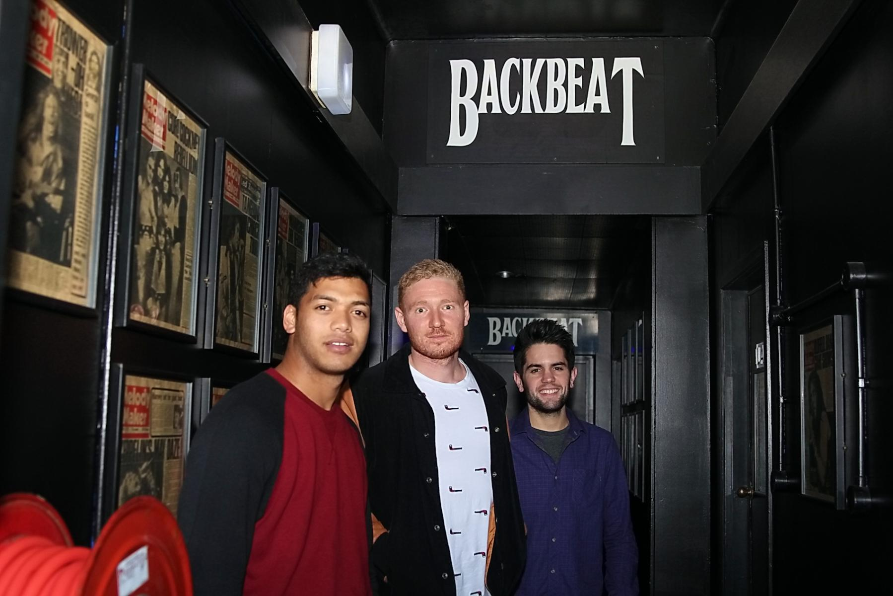 Sam Allen (plus band). Backbeat Bar - 7th Spetember