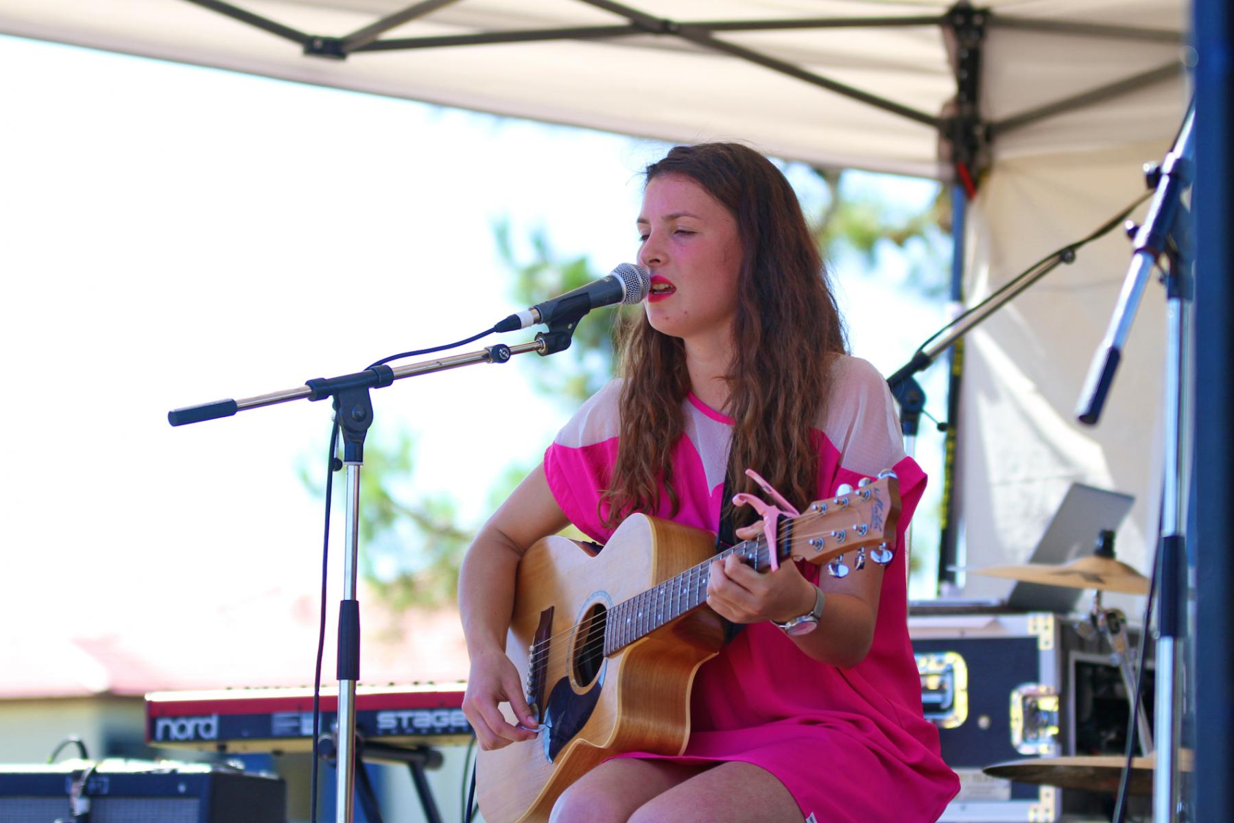 Georgia Lines - Opening for Jamie McDell - Music In Parks - Luckens Reserve - March '13