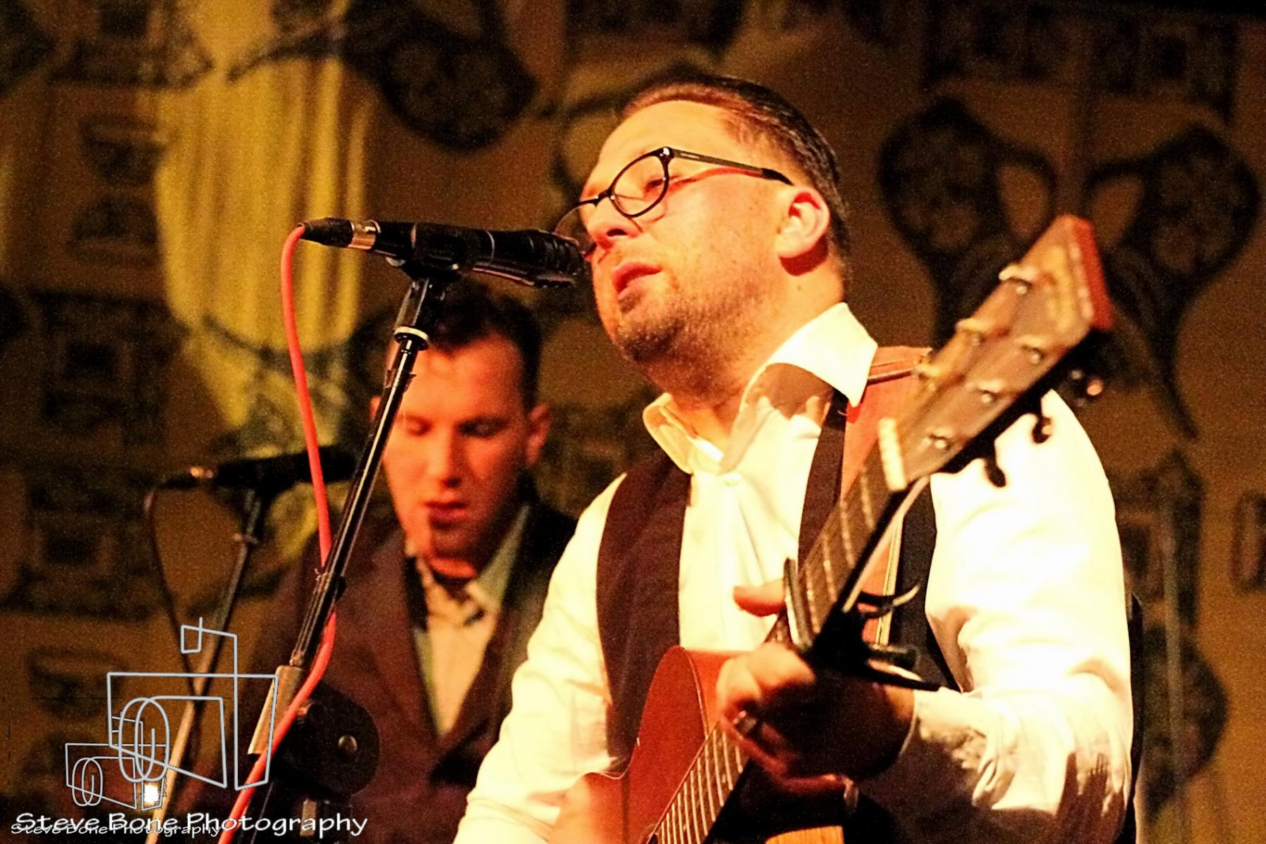 Rod Fisher + Dave Khan - The Three Bees - The Black Tie Event - Wine Cellar - 23rd May 2013